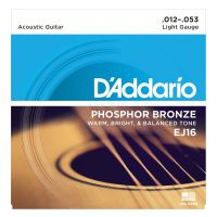 Thumbnail van D'Addario EJ16 Light - Phosphor bronze