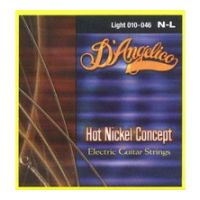 Thumbnail van D'Angelico N-L 010-046 Nickel plated steel