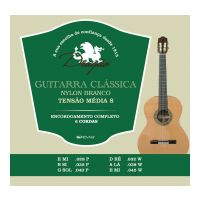 "Thumbnail van Dragão D030 Guitarra Classica Nylon ""Branco"" Medium tension"