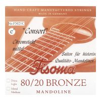 Thumbnail van Fisoma F3021C Consort 80/20 single pair of E strings for mandoline.
