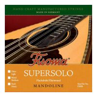 Thumbnail van Fisoma F3050M Mandoline supersolo Medium Flatwound Stainless