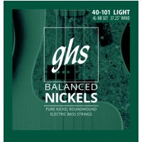 "Thumbnail van GHS 4M-NB 4700 Balanced Nickel Medium 4 String  (37.25"" winding)"