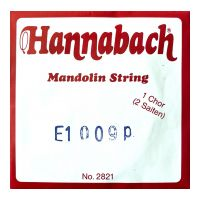 Thumbnail van Hannabach 2821009 Single pair Mandoline strings .009