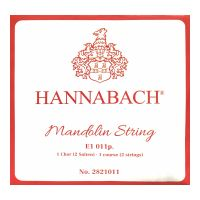 Thumbnail van Hannabach 2821011 Single pair Mandoline strings .011