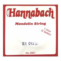 Thumbnail van Hannabach 2821012 Single pair Mandoline strings .012