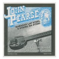 Thumbnail van John Pearse 7380 Hawaiian Lap Steel Guitar, Nickel wound – 6-String C6 Tuning 15-34