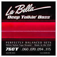 Thumbnail van La Bella 760T White Nylon Tape Wound