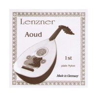 Thumbnail van Lenzner 2810N3  Aoud Silvered copperwound nylon. Nylon 3rd course