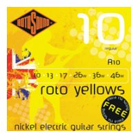Thumbnail van Rotosound R10 Roto 'Yellows' Regular