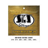 Thumbnail van SIT Strings GB1048 Extra light Golden Bronze 80/20 Acoustic