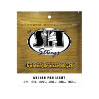 Thumbnail van SIT Strings GB1150 Pro Light Golden Bronze 80/20 Acoustic