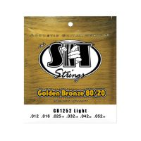 Thumbnail van SIT Strings GB1252 Light Golden Bronze 80/20 Acoustic